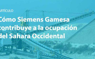 Com Siemens Gamesa contribueix a l'ocupació del Sàhara Occidental